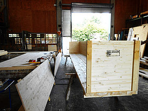 Unsere stabile Transportbox