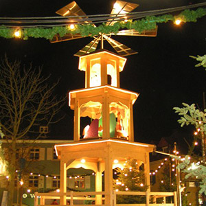 Weihnachtspyramide in Bad Krozingen