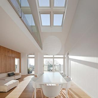 Schöne Dachfenster