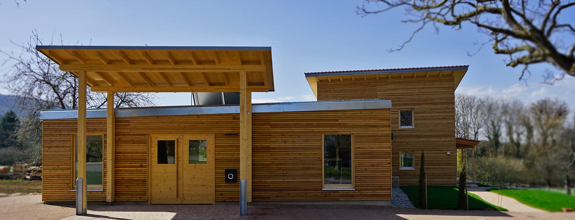 Holzgebäude Wolf Holzbau Bad Krozingen
